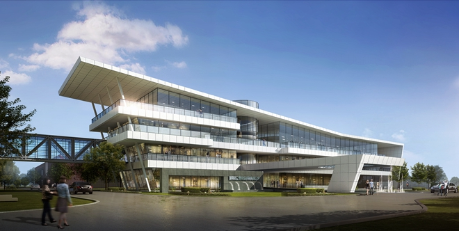 2019最新商业办公楼建筑外观设计